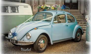 VW Wedding beetle for hire in Hampshire