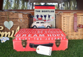 Vintage styled VW Wedding Cars in Hampshire and West Sussex