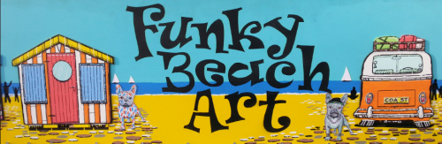 Funky Beach Art