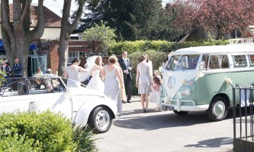 VW Wedding campervans in Hampshire
