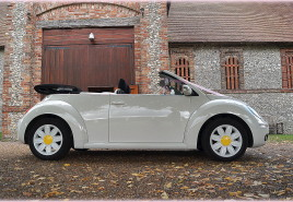 VW Beetle wedding hire Hampshire