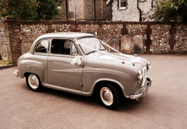 Austin A30 wedding car hamphire