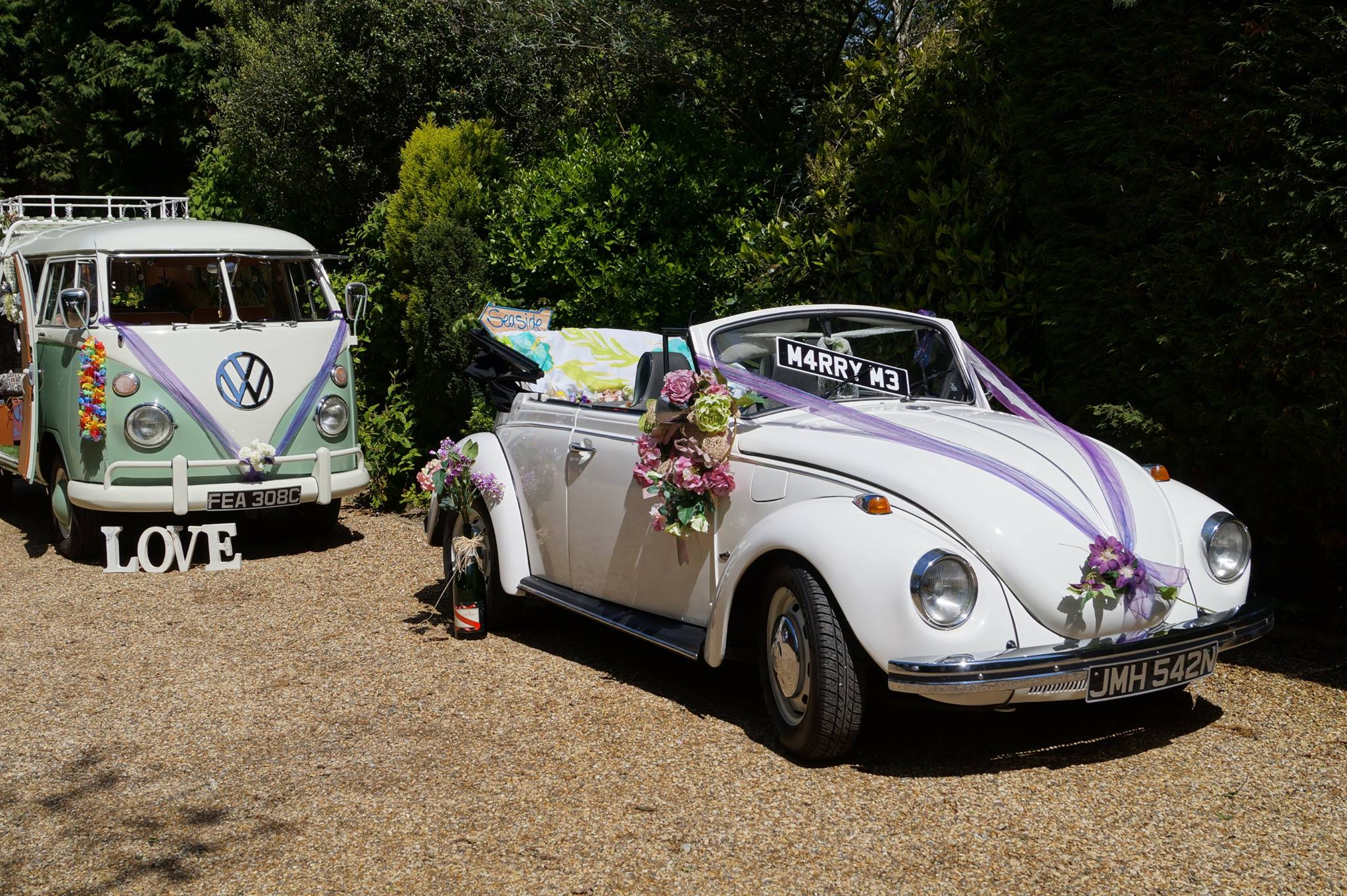 Beetle Car For Wedding Hire